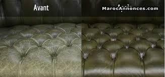 restauration canapé cuir réparation touts types de cuir services divers 16h37 16 03 2018