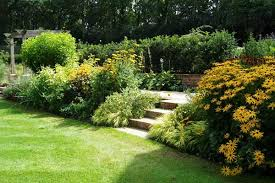 Country Backyards Garden Design Garden Design With Beautiful Garden In The House