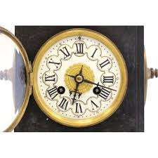 Linden Mantel Clock 19th C Tiffany U0026 Co Bronze Islamic Mantle Clock
