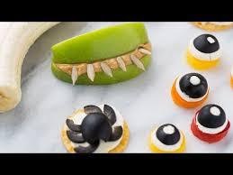 5 healthy halloween kids snacks youtube