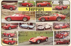 retro ferrari ferrari historical cars anonymous artists the vintage poster