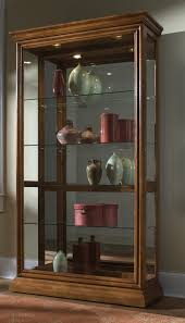 lighted curio cabinet oak fresh perfect lighted curio cabinet golden oak 20388