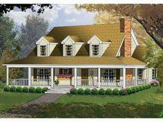 Country House Plans Wrap Around Porch Country Home Floor Plans Wrap Around Porch Cane Hill Country