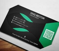 free black u0026 green eco business card template psd titanui