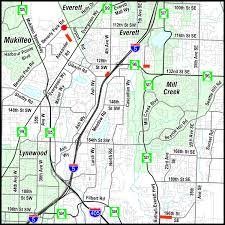 Map Of Alderwood Mall Swift Green Line Pedestrian Facilities Improvements Projects