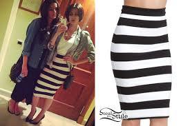 striped pencil skirt dress ala striped black and white skirt dress ala