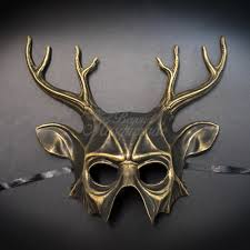 masquarade mask masquerade mask men animal masquerade mask deer m39064