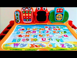 vtech activity table deluxe touch and learn activity desk deluxe vtech youtube