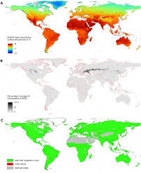 World Temperature Map Digital Geography