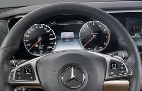 mercedes dashboard clock base spec 2017 mercedes e class reveals its analog dials