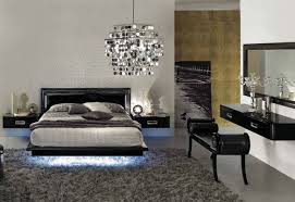 floating bed frame with lights trendy bedroom sets wiibrowser