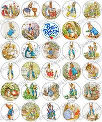 rabbit party 30 x rabbit party edible rice wafer paper cupcake toppers ebay