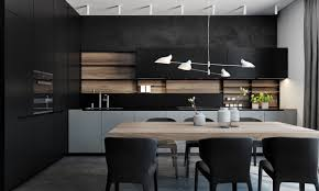 modern kitchen black cabinets 36 stunning black kitchens that tempt you to go for