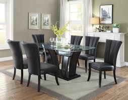 black dining room black dining room sets homelegance sanibel 7 piece dining room set