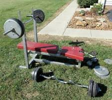 Weight Bench Set For Kids Weight Bench Set Ebay