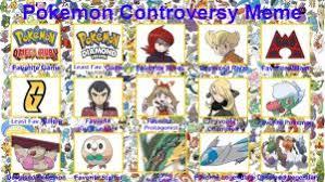 Pokemon Game Memes - pokemon anime controversy meme by purfectprincessgirl on deviantart