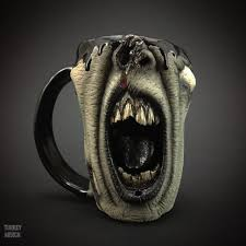 best coffee mugs ever realistic zombie head coffee mugs are a real eye opener huffpost