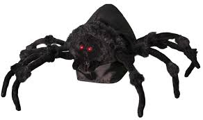 tabletop animated jumping spider halloween prop spider tabletop
