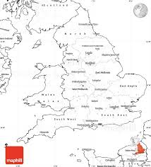 Map Of Britian Outline Map Of England 861