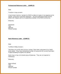 bank reference letter sample template billybullock us