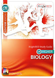 brightred publishing cfe higher biology study guide