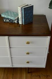 Painted Mid Century Furniture by Furniture Debut Mid Century Modern Dresser Estuary Designs