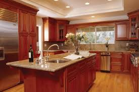 kitchen and bathroom design kitchen and bath designs bathroom decorating with cherry cabinets