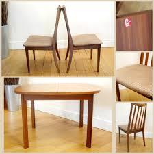 extending table reduced g plan fresco teak dining set with extending table u0026 six