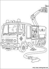 fireman sam coloring picture kolorowanki krzysia