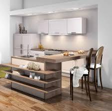 idee cuisine ilot chambre enfant cuisine design amenagement cuisine
