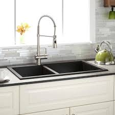 kitchen faucet placement 60 40 kitchen sink designer collection inch bowl