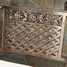 amazon com sierra outdoor cast aluminum swivel bar stools w