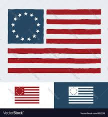 Usa Flag Vector Original American Flag Royalty Free Vector Image