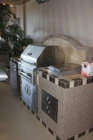 outdoor kitchen backsplash barbecue island w backsplash and luxor grill nevada outdoor