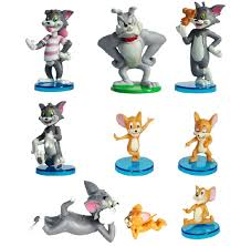 aliexpress buy free shipping cute 9pcs tom jerry cartoon