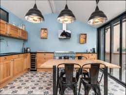 cuisine style usine cuisine bois cuisine style industriel bois