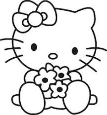 kitty pictures color free printable kitty
