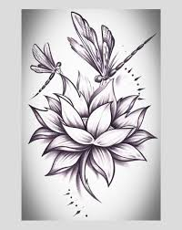 23 best lotus tattoos flower and butterfly images on