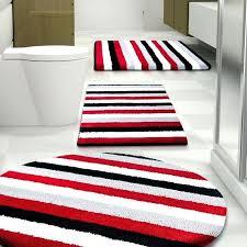 Damask Bath Rug Black White And Gray Bathroom Rugs U2013 Bathroom Ideas