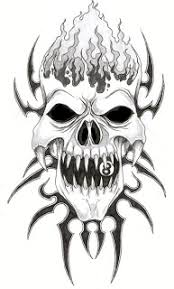 picture collection tribal skull designs the