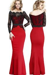 Red And Black Party Dresses Red And Black Party Dresses Vosoi Com