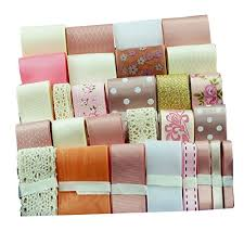 Gift Wrapping Accessories - surker satin ribbon assorted solid colors collection hair ribbon