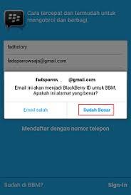 membuat akun gmail bbm cara daftar bbm versi terbaru tanpa email bloging id