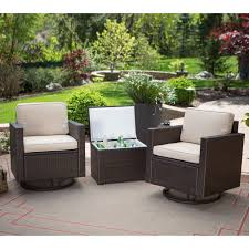 Patio Conversation Sets Sale by Coral Coast Berea Wicker 4 Piece Conversation Set With Storage