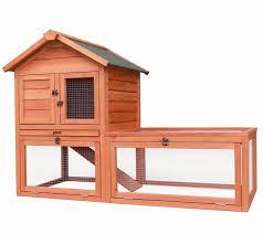 Rabbit Hutch For Multiple Rabbits Merax Wooden Pet House For Rabbits Slash Pets