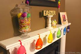 easter mantel decorations easter mantel decor the inspired home