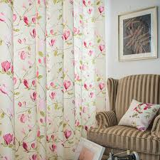 Floral Curtains Country Beautiful Feeling Floral Curtains