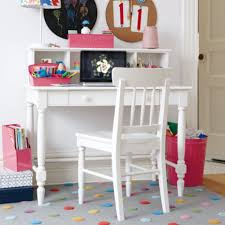 White Kid Desk Desks And Chairs Room Decor
