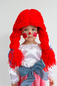 raggedy ann halloween makeup kastles october 2016