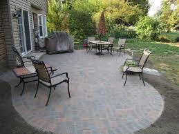 Circular Patios by Patio Paving Designs Patio Circular Paving Stone Brick Ideas